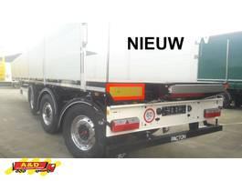 flatbed semi trailer Pacton Nieuwe kraanoplegger