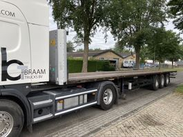 flatbed semi trailer Kögel SNCO24P120V/1.130 SCANDIC 2008