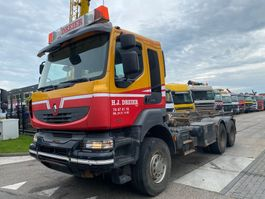container truck Renault KERAX 450 DXI 6X4 EURO 4 FULL STEEL 2008