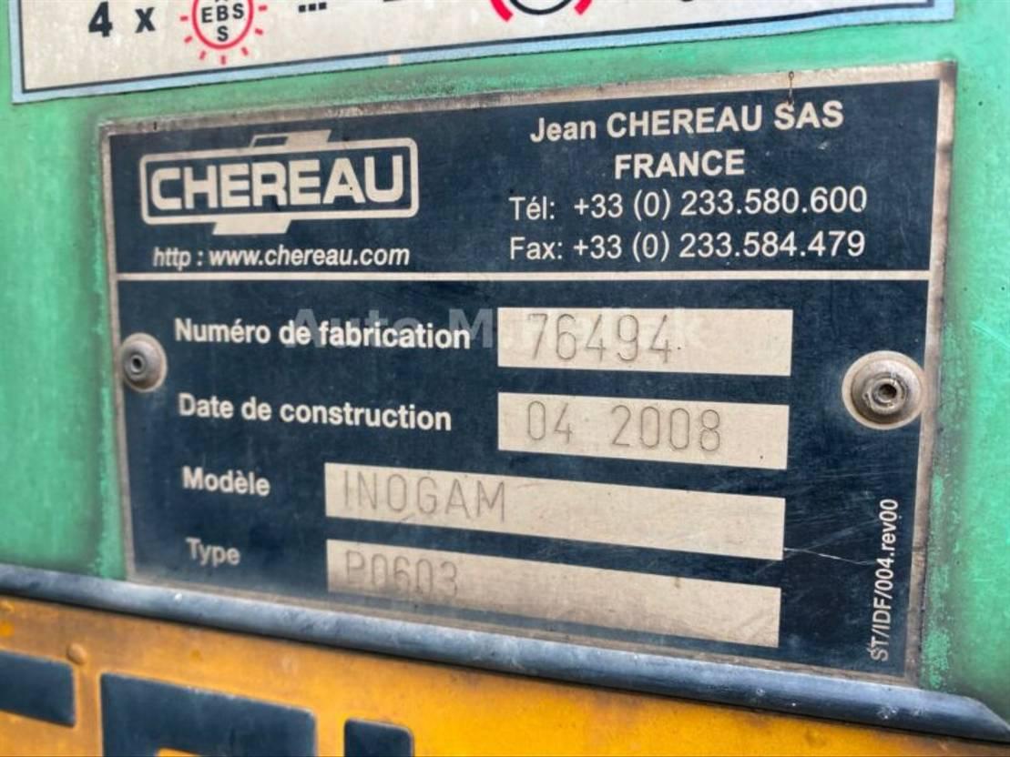 Kühlauflieger Chereau Tiefkühlkoffer Carrier Vector 1850 höhe 2,60m