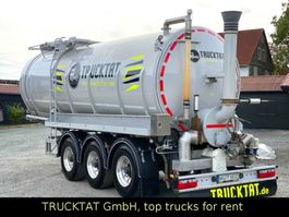 tank semi trailer semi trailer KAESSBOHRER V2A Gülle 30 m³, Lift+Optiturn, Leer 6 to. 2020