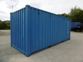Wechselbrücke Anhänger Auflieger Mercury Container 20Fuss Lagercontainer Stahlcon 2017
