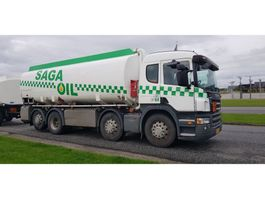 tank truck Scania P380 8x2 24000 Liter tank Petrol Fuel Diesel ADR 2008