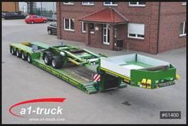 lowloader semi trailer Faymonville STBZ-4VA, 4+2  Tele, Extandable, Dolly, super low 2012