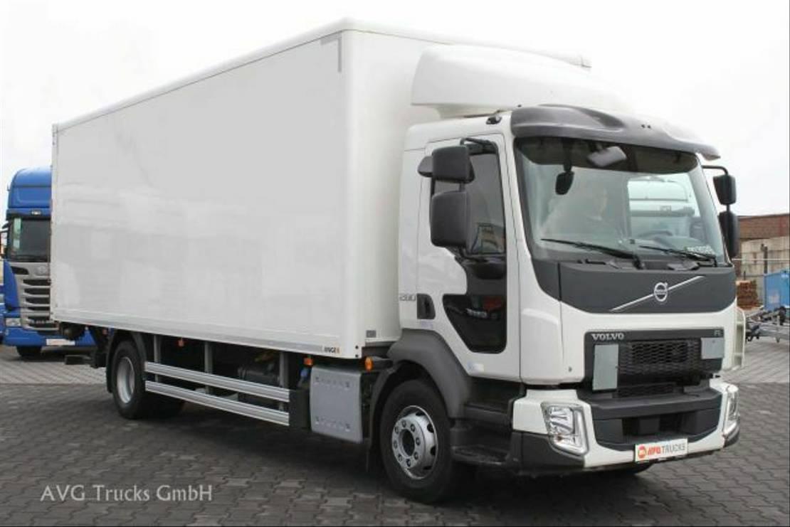 closed box truck > 7.5 t Volvo FL 280 16 t Koffer LBW Klima ACC AHK 2018