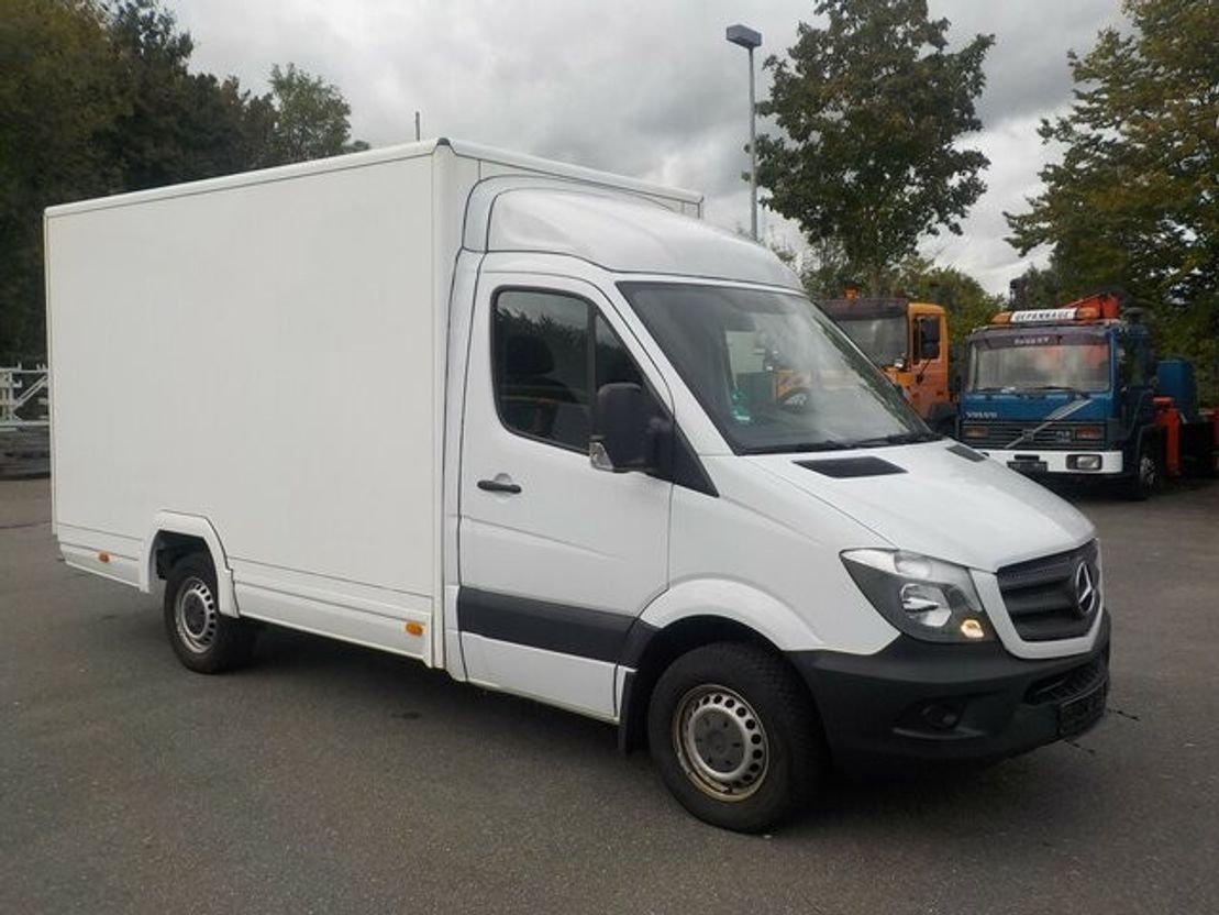 closed box truck > 7.5 t Mercedes-Benz Sprinter 313Cdi Koffer 2015