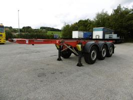 chassis semi trailer Fliegl 3 Achs Container Chassis 20Fuss Heckbündig  Alu 2016