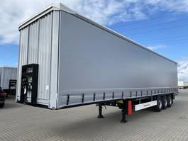 sliding curtain semi trailer KAESSBOHRER Plywood 18 ton king pin. 2020