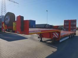 semi lowloader semi trailer KAESSBOHRER SLS HS Liftable Platform 2020