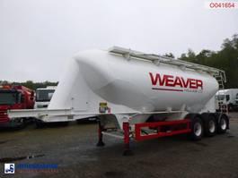 tank semi trailer semi trailer SPITZER Powder tank alu 37 m3 2006