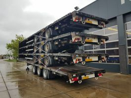 drop side semi trailer LAG O-3-GT 50 2010