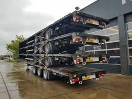 flatbed semi trailer LAG O-3-GT 50 2010