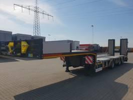 lowloader semi trailer KAESSBOHRER SLA R 3 Wheel recess 2020