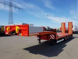 lowloader semi trailer KAESSBOHRER SLS 4 No extension 2020