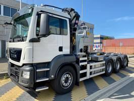 container truck MAN TGS 35.430 8x4-4 haak+kraan 2021