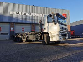 container truck DAF CF85 410PK 8X2 VDL HAAKARM 25TON 2010