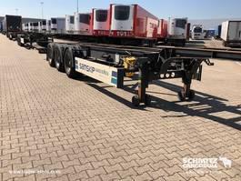 Container-Fahrgestell Auflieger Schmitz Cargobull Semitrailer σασί εμπορευματοκιβωτίων (με offset) 2013