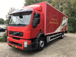 closed box truck Volvo FE 280 euro 5 ,manuel , airco,19 tons, low km 2009
