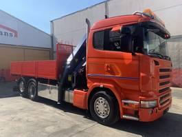 crane truck Scania R420 Palfinger 27002 SH 2006