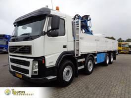 platform truck Volvo FM 400 + PTO + Hiab 130R 2006