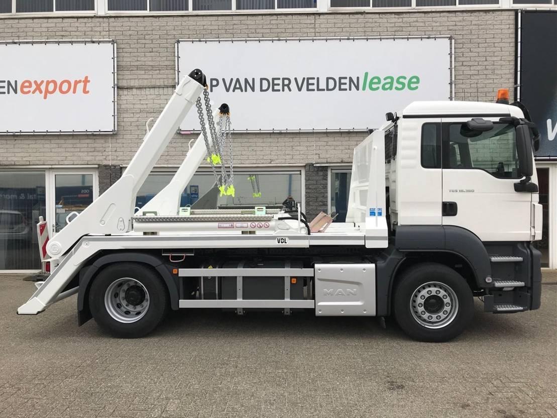 container truck MAN TGS 18.360 4x2 BL Portaalarm 14 ton 2020