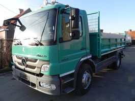 tipper truck > 7.5 t Mercedes-Benz Atego 1224 kipper 2013