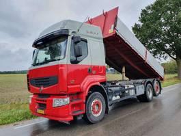 tipper truck > 7.5 t Renault PREMIUM LANDER 410.26 6X2 EL 3M 2009