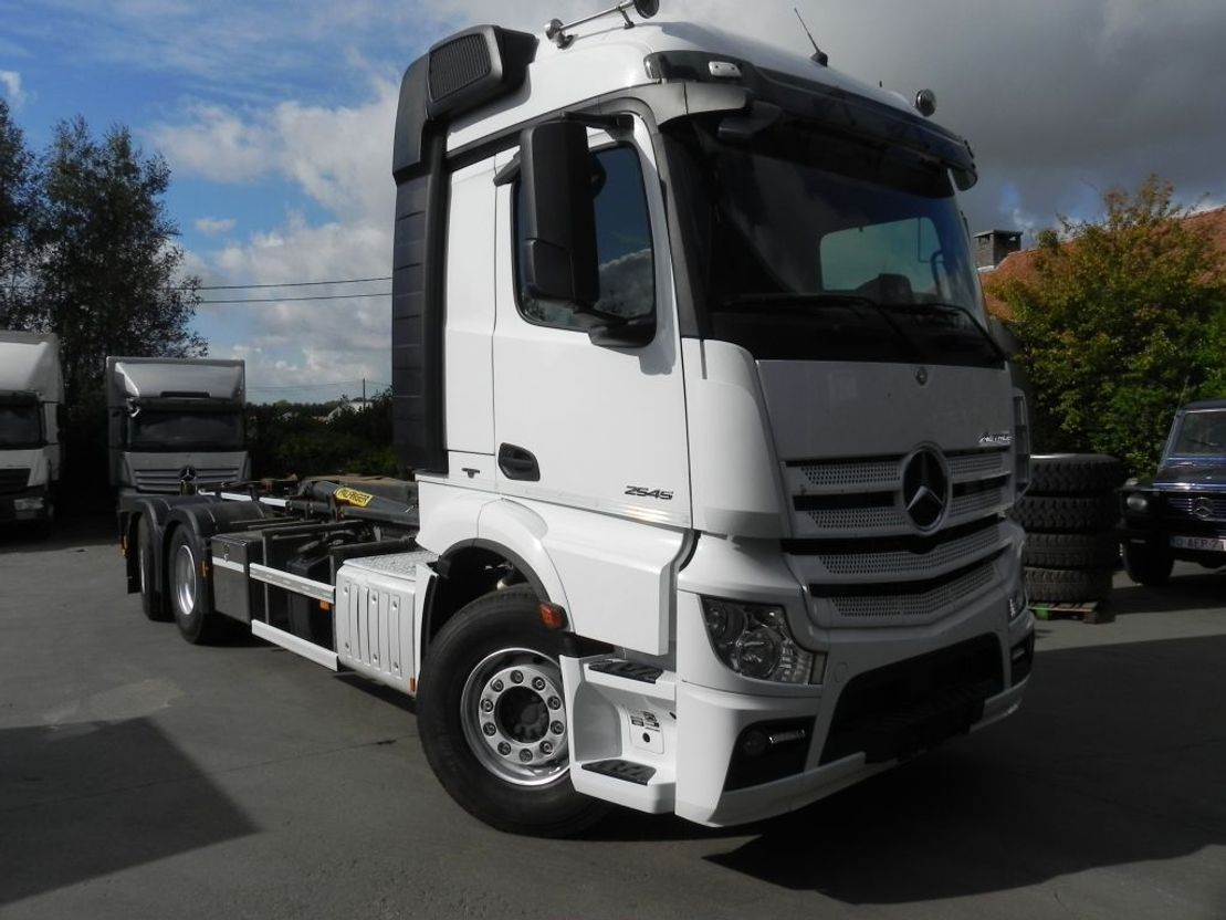 container truck Mercedes-Benz Actros 2545 containersysteem 2545L 2015