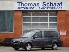 minivan - passenger coach car Volkswagen Caddy Maxi 1.4 TGI CNG BlueMotion Rollstuhlrampe Klima Euro 6 2015