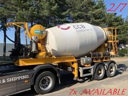 concrete mixer semi trailer MOL 7x MOL (2/7) LT AUTOMIX AM 10m³ - BELGISCHE PAPIEREN / PAPIERS BELGES - ... 2009