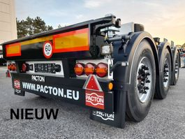 container chassis semi trailer Pacton Nieuwe multi PACTON - In stock - Direct leverbaar