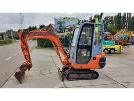 mini digger crawler Hitachi EX15-2 1998