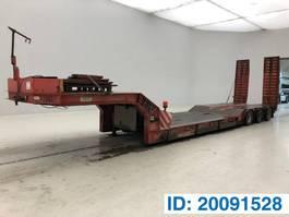 Tieflader Auflieger MOL Low bed trailer 1993