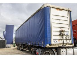 tilt semi trailer General Trailers CAISSE/BACHE -TX 34 + ZEPRO 2000 KG 2001