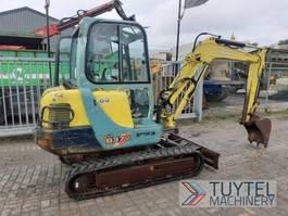 mini digger crawler Yanmar B37V minigrave 3,7 ton mini excavator graafmachine