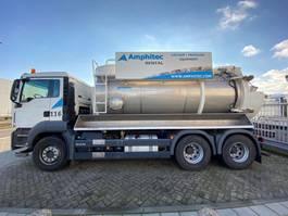 vacuum truck MAN TGS 26.360 6x4 Vacuum 2016