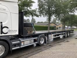 flatbed semi trailer Kaiser 2 asser rongen/haken apk 2021 2001