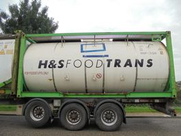 tank container Welfit Oddy 23.000 L Tank / Food-Lebensmittel / 20 FT / 6x In Stock 2006