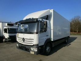 closed box truck > 7.5 t Mercedes-Benz ATEGO 1524 L Koffer 7,2 m LBW 1,5 to.*NL 7,8 T 2015