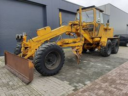 grader O & K G 12, Frontblade, Turnable blade And Ripper! 1978