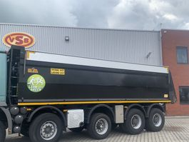 Tipper truck part Hyva 3x Hyva  kuub 32 m3 kipperbak kipper geïsoleerd asfalt 2012