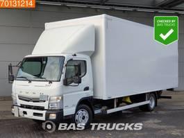 closed box truck > 7.5 t Mitsubishi Fuso 7C18 AMT 4X2 Ladebordwand 2017