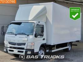 closed box truck > 7.5 t Mitsubishi Canter Fuso 7C15 Duonic 4X2 Like-new! Ladebordwand Euro 6 2016