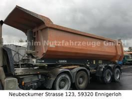 tipper semi trailer Carnehl CHKS/HH, Domex, 38000 kg zzGw