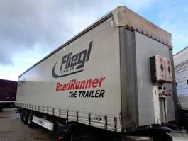 sliding curtain semi trailer Fliegl SDS 350 + 3 AXLE 2012