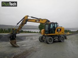 wheeled excavator Caterpillar M314F 2017