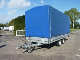 Kipper KPW-Anhänger Hapert AL....plateauwagen met huif 2014