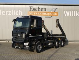 container truck Mercedes-Benz Arocs 2540 6x2, Meiller AK 16 T, Automatik, Euro 6 2014