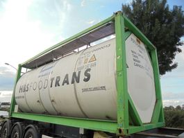 tank container Van Hool 30.860 L Tank / Food-Lebensmittel / 3 Compart. / 9x In Stock 1999