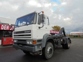 container truck DAF FAV 23OO TURBO 4X4 1993